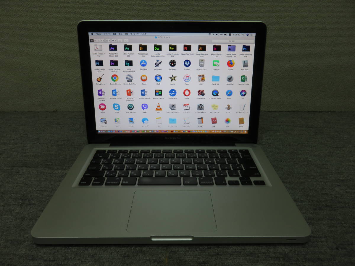 MacBook Pro A1278 ◆ Mid 2012◆13.3型◆高速Core i5 第3世代 / 8GB / SSD 256GB◆ダブル 最新macOS & Windows7◆Adobe, Office付_画像3