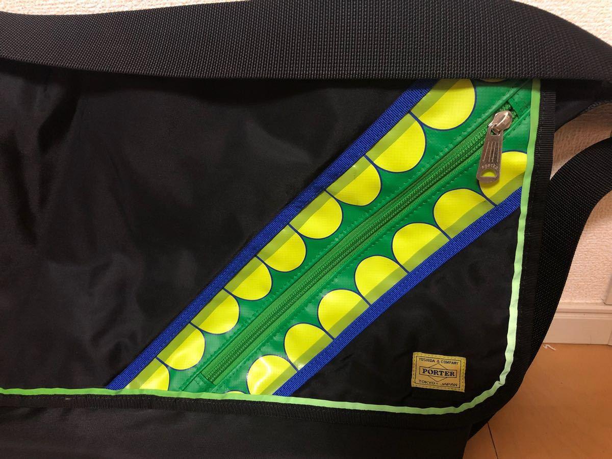 美品美品 PORTER KAWS ORIGINAL FAKE G1950 コラボ メッセンジャーバッグ オリジナルフェイク_画像2