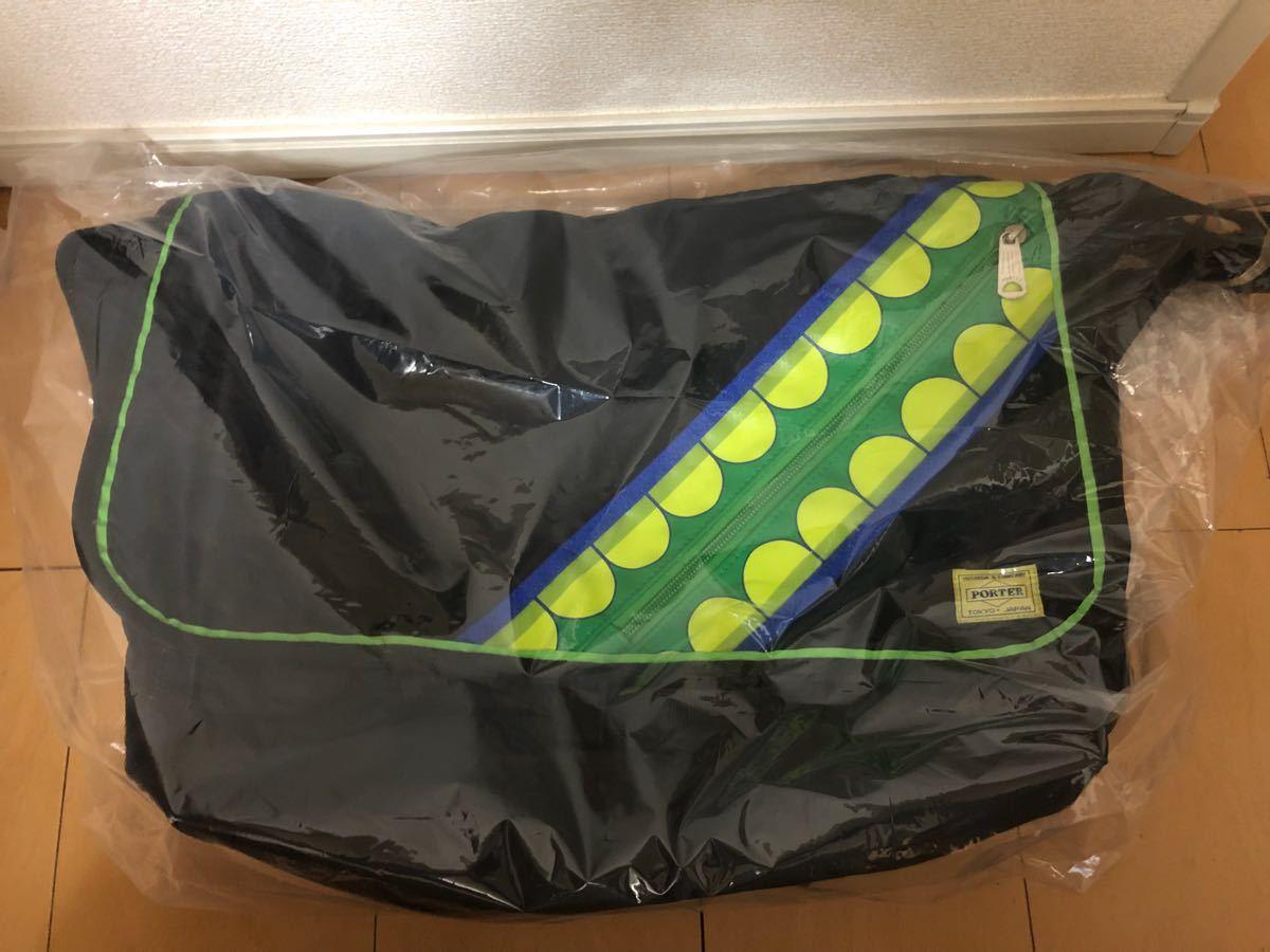 美品美品 PORTER KAWS ORIGINAL FAKE G1950 コラボ メッセンジャーバッグ オリジナルフェイク