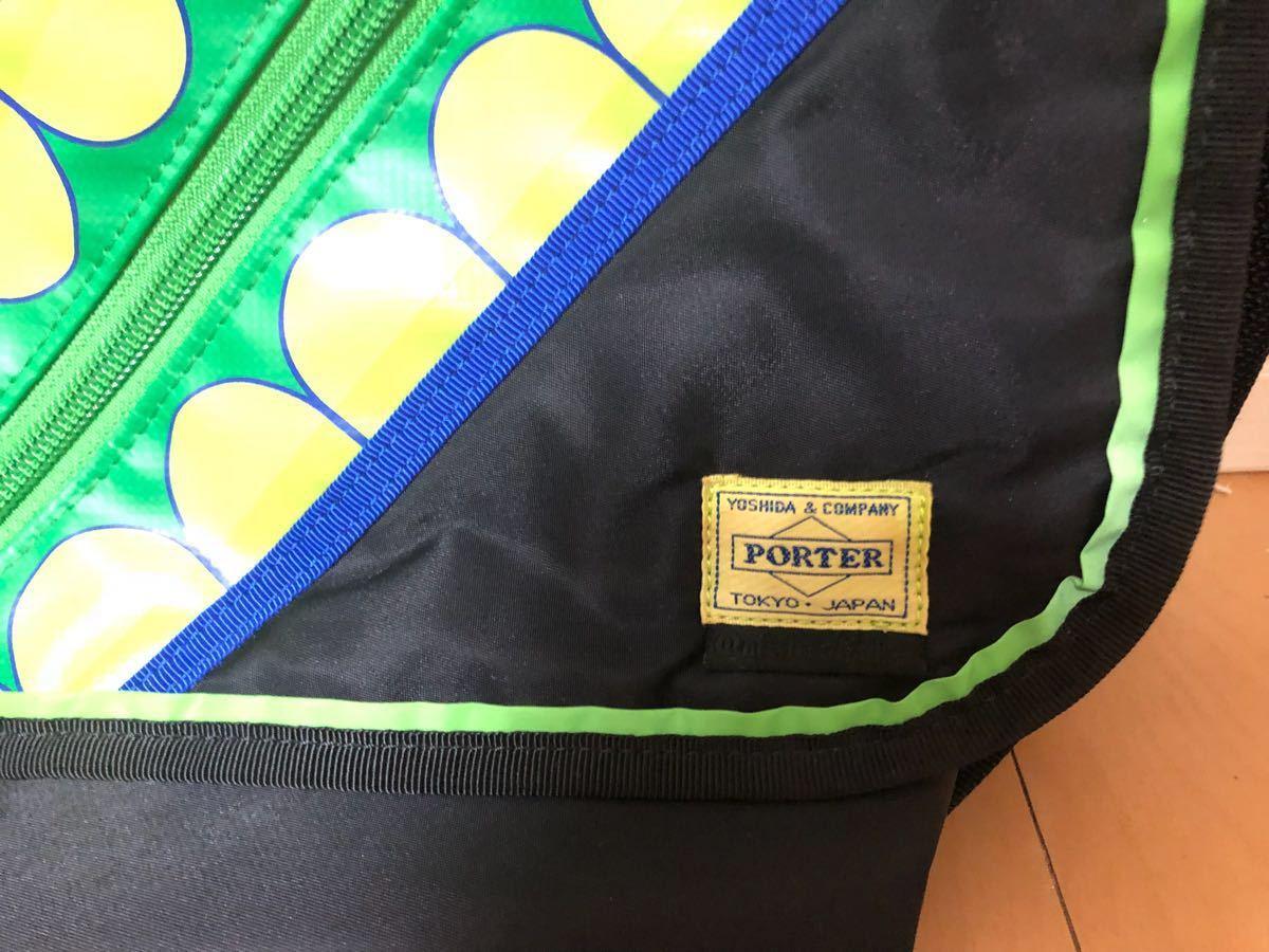 美品美品 PORTER KAWS ORIGINAL FAKE G1950 コラボ メッセンジャーバッグ オリジナルフェイク_画像3