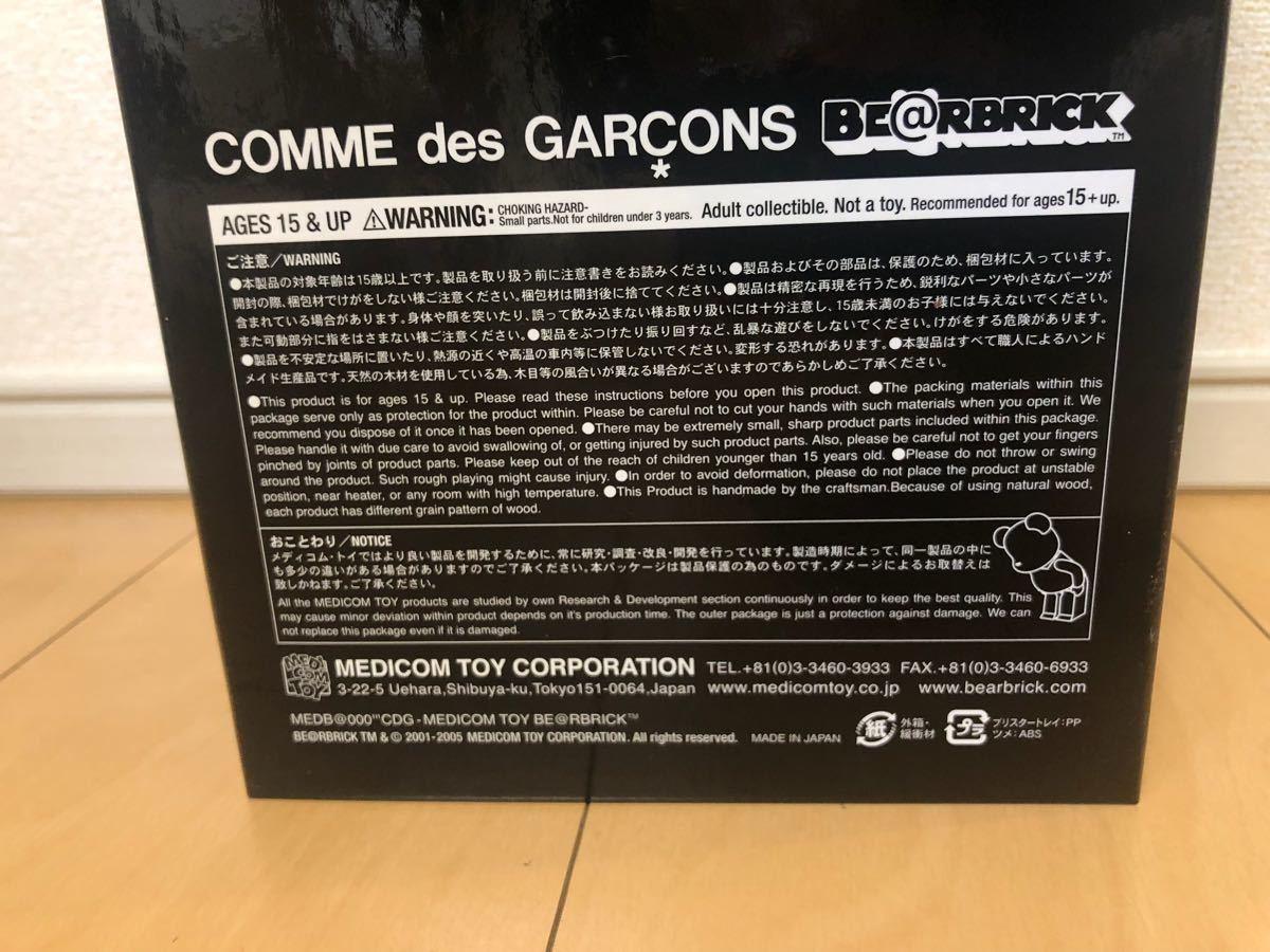 未展示 BE@RBRICK 400% カリモク COMME des GARCONS WOOD コム デ ギャルソン 400% ベアブリック /KAWS BAPE_画像6