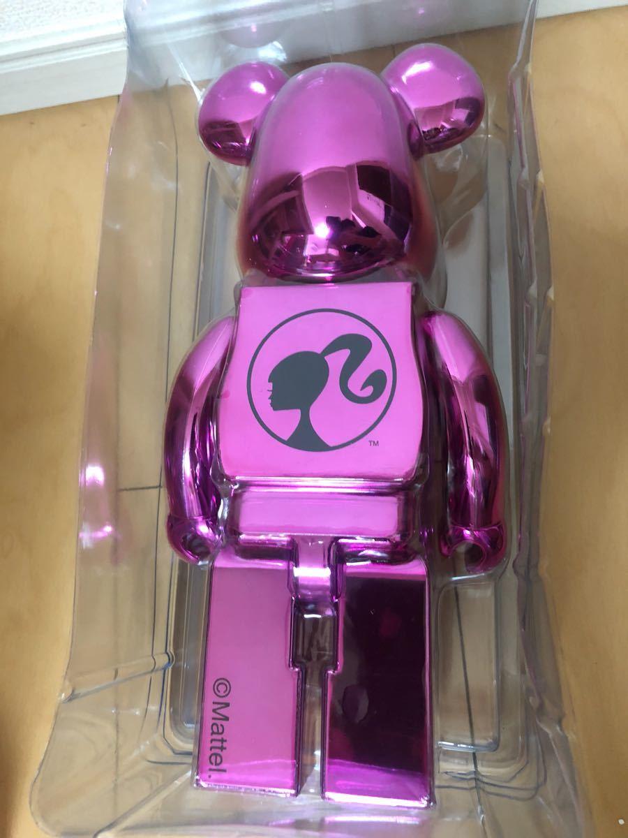 美品 ベアブリック Barbie 400% バービー/KAWS BAPE_画像3