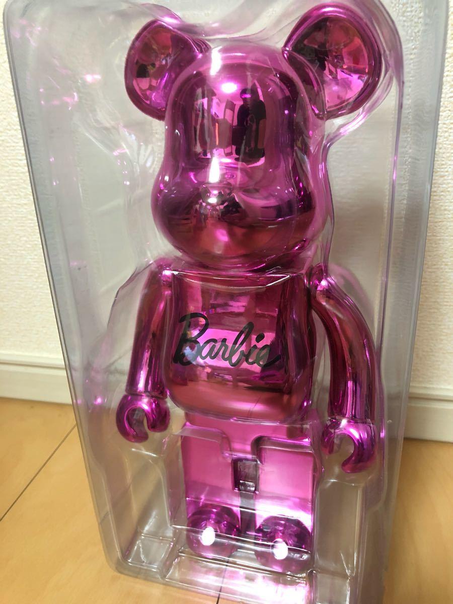 美品 ベアブリック Barbie 400% バービー/KAWS BAPE_画像2