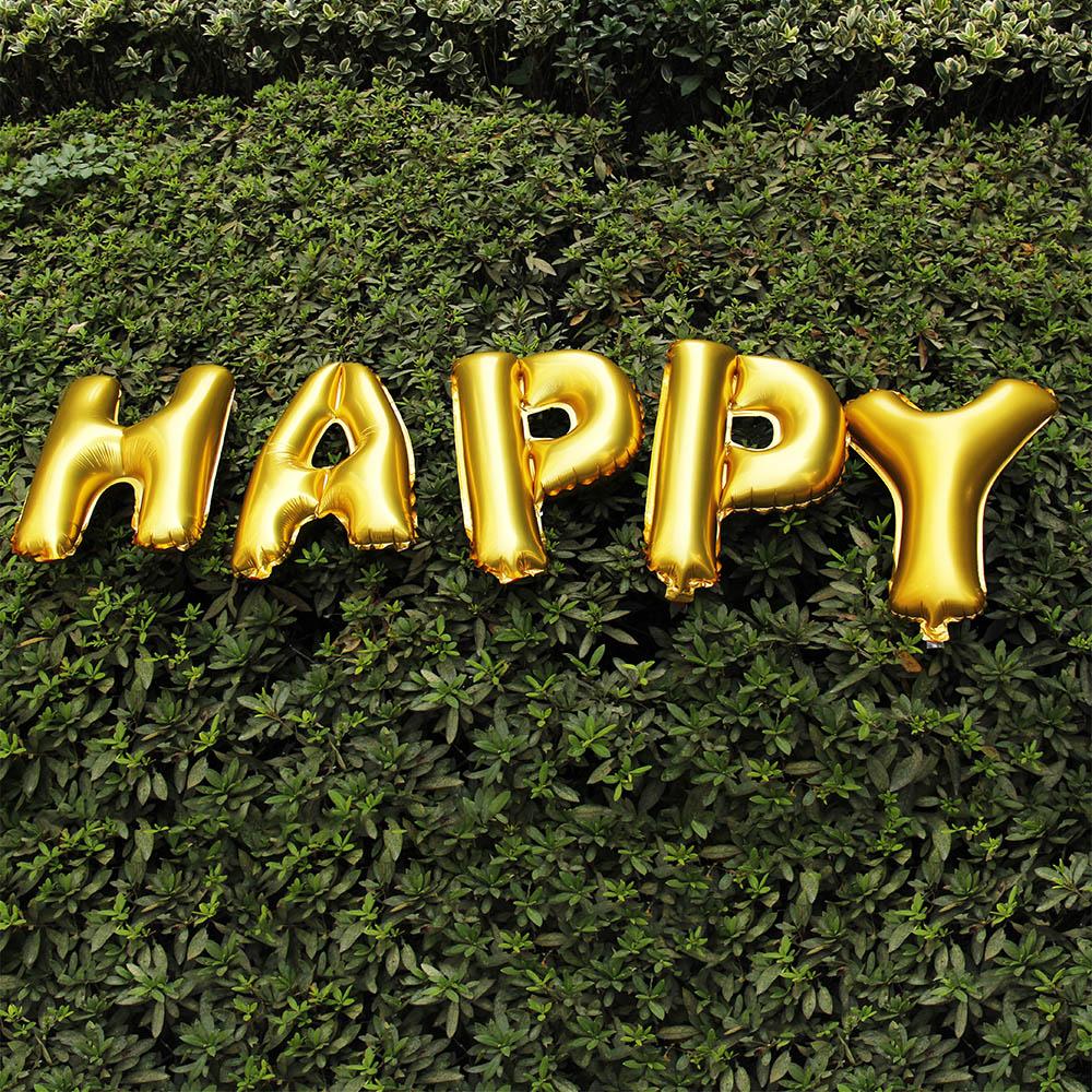 FTA153 新品/送料無料 HAPPYジャンボメッセージバルーン ハッピー特大風船 誕生日 イベント お祝い パーティー プレゼント キッズ ベビー_画像3