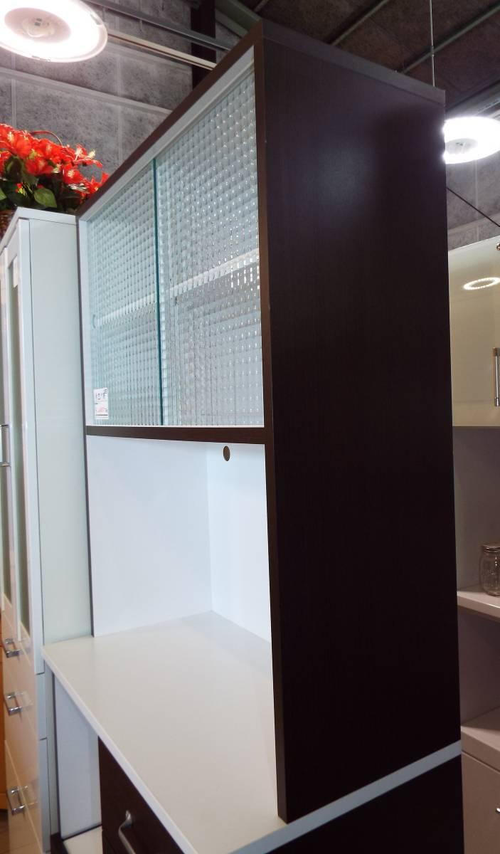 【愛知店舗】3.000円から配送できます☆食器戸棚 キッチンボード 大きさ80×40×180㎝ コンセント付_画像5