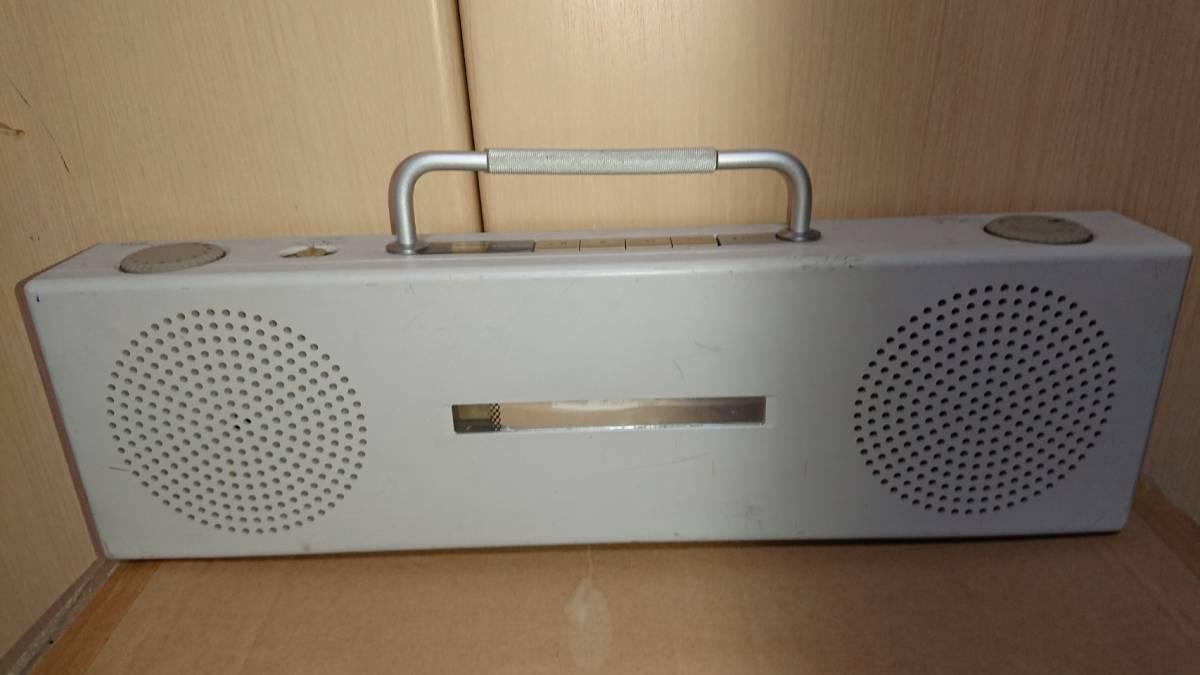 無印良品 松下電器 携帯用CDラジオ SL-PH70R 動作確認済 汚れ有り