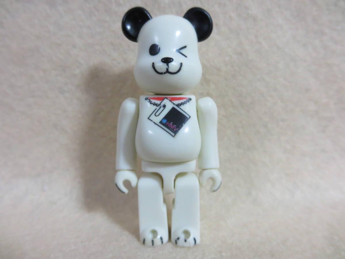 ●ベアブリック 100%★HMV DOG ホワイト★2001 キャンペーン●開封済 本体のみ