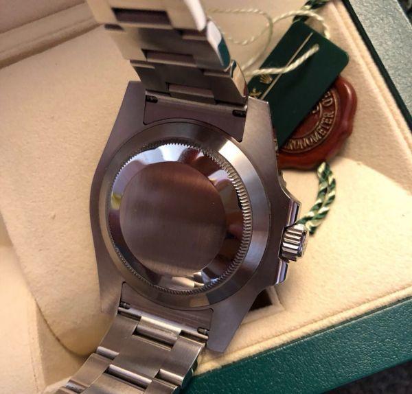 【ロレックス 確実正規品 黒文字盤 116610 サブマリーナデイト 腕時計 中古品】_画像8
