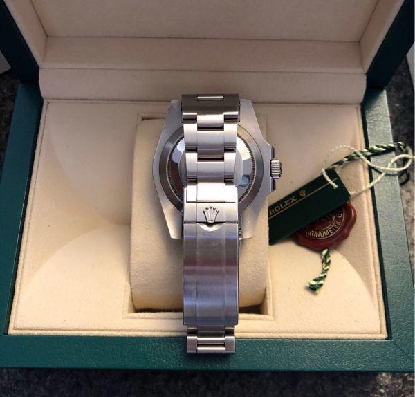 【ロレックス 確実正規品 黒文字盤 116610 サブマリーナデイト 腕時計 中古品】_画像5