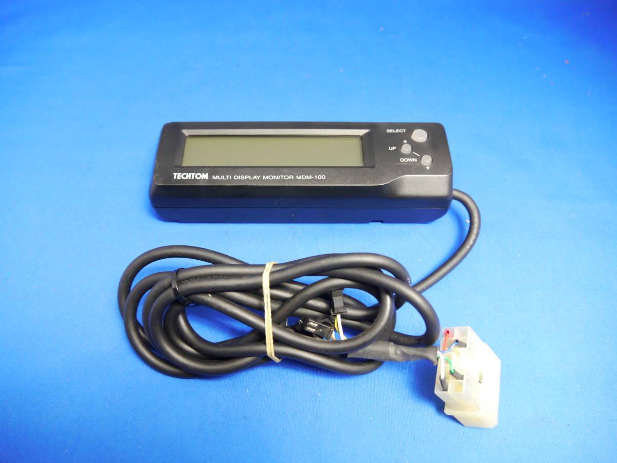rare tech Tom MDM-100 S Subaru for old model connector multiple
