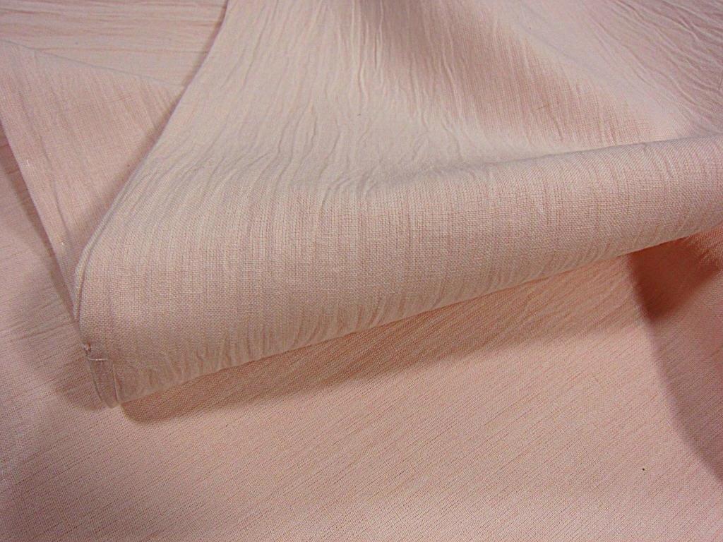 夏物 新品【御仕立上】小千谷織物 綿麻縮 仁伍ヱ門 吉新織物 薄ピンク_画像3