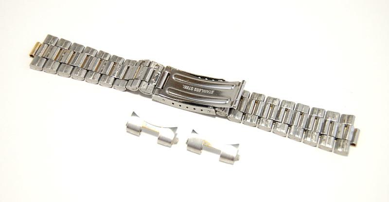 【Speidel】メンズ腕時計ブレス 20mm ステンレススチール バンド ベルト アンティーク/ヴィンテージウォッチに MB240_画像7