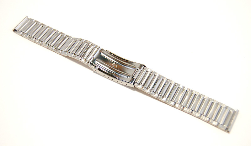 【Speidel】 18mm ステンレススチール 腕時計バンド デッドストック ベルト アンティーク/ビンテージウォッチに MB253_画像8