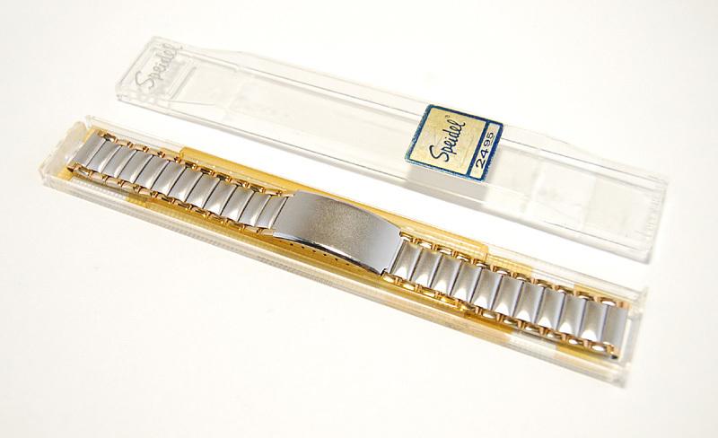 【Speidel】 18mm ステンレススチール 腕時計バンド デッドストック ベルト アンティーク/ビンテージウォッチに MB253_画像7