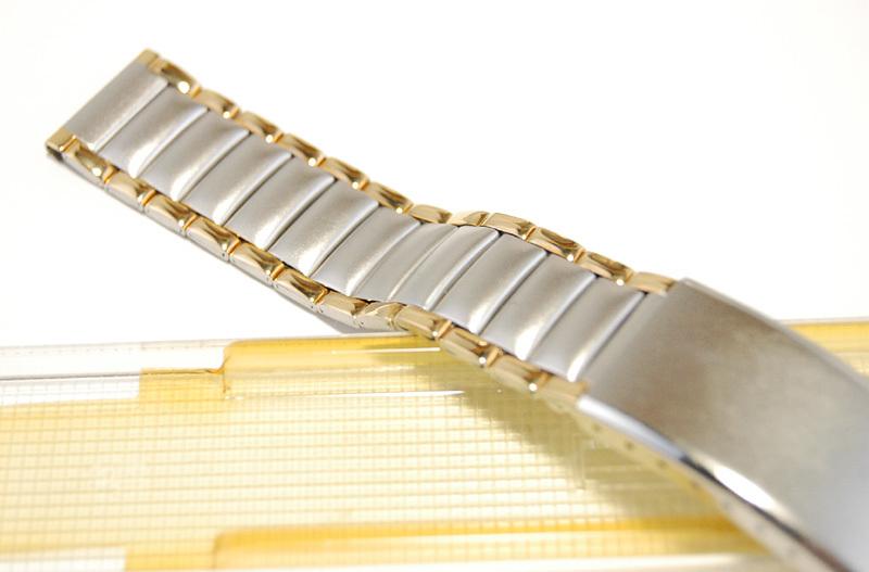 【Speidel】 18mm ステンレススチール 腕時計バンド デッドストック ベルト アンティーク/ビンテージウォッチに MB253_画像3