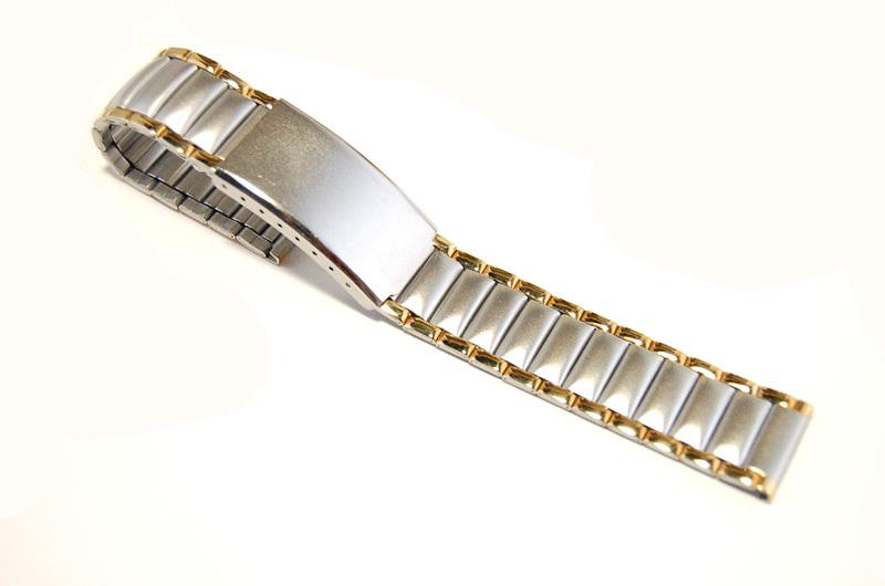 【Speidel】 18mm ステンレススチール 腕時計バンド デッドストック ベルト アンティーク/ビンテージウォッチに MB253_画像1