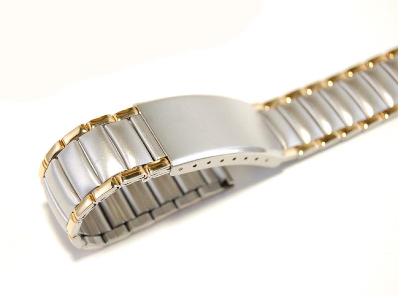 【Speidel】 18mm ステンレススチール 腕時計バンド デッドストック ベルト アンティーク/ビンテージウォッチに MB253_画像2