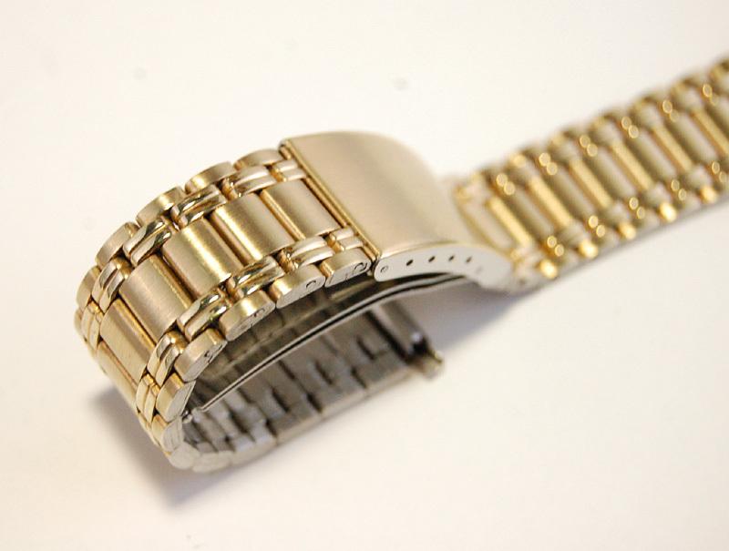 【Speidel】 メンズ腕時計ブレス 18-24mm ステンレススチール レトロ バンド デッドストック ベルト アンティークウォッチに MB259_画像2