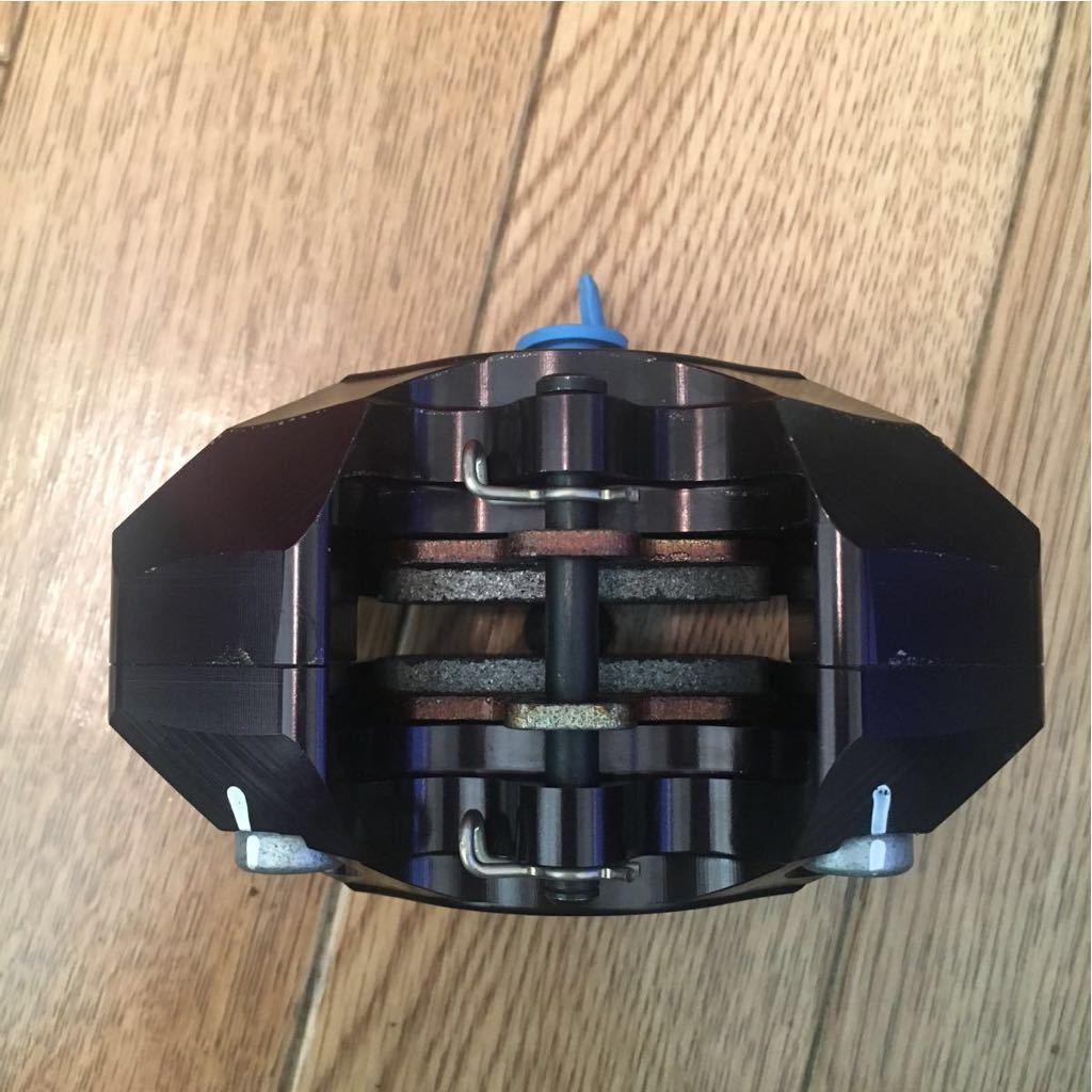 Brembo ブレンボ CNCリアブレーキキャリパーキット P2 84mm ブラック ブレンボジャパン正規品_画像4