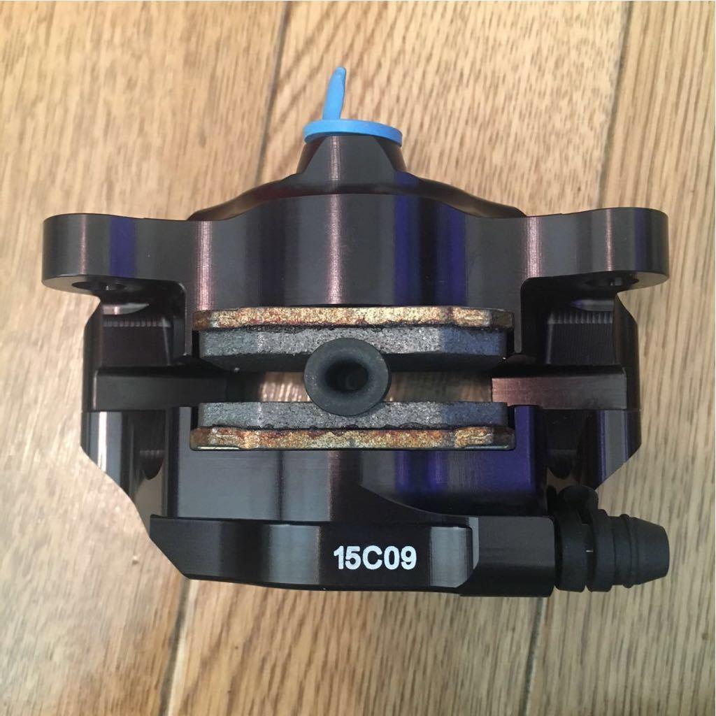 Brembo ブレンボ CNCリアブレーキキャリパーキット P2 84mm ブラック ブレンボジャパン正規品_画像3