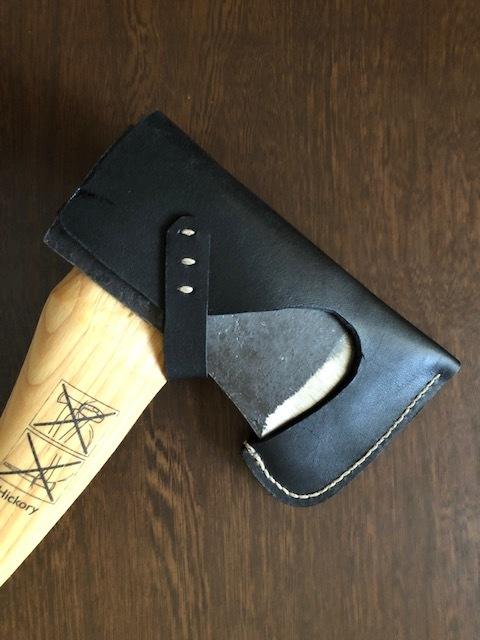 即納! Husqvarna手斧用ヘッドカバー ハスクバーナ 用 色:黒色(BLACK) 仕様1(ディアレース無し)新品_画像3