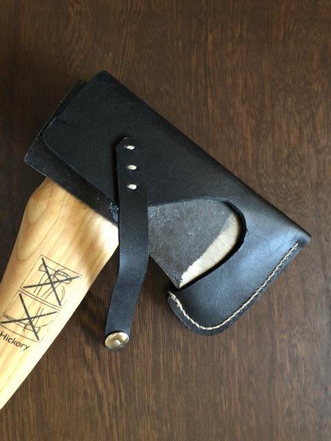 即納! Husqvarna手斧用ヘッドカバー ハスクバーナ 用 色:黒色(BLACK) 仕様1(ディアレース無し)新品_画像4