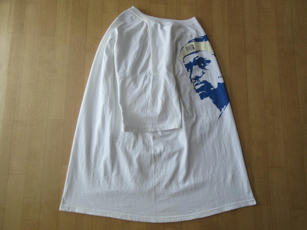 00's メキシコ製 NIKE LeBron James フェイス FORCE OF NATURE Tシャツ XLナイキ レブロン ジェームズNBAクリーブランド キャバリアーズNSW_使用感,薄汚れ,毛羽立ち等有り
