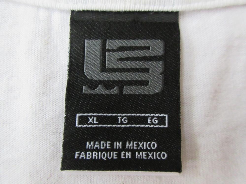 00's メキシコ製 NIKE LeBron James フェイス FORCE OF NATURE Tシャツ XLナイキ レブロン ジェームズNBAクリーブランド キャバリアーズNSW_画像8