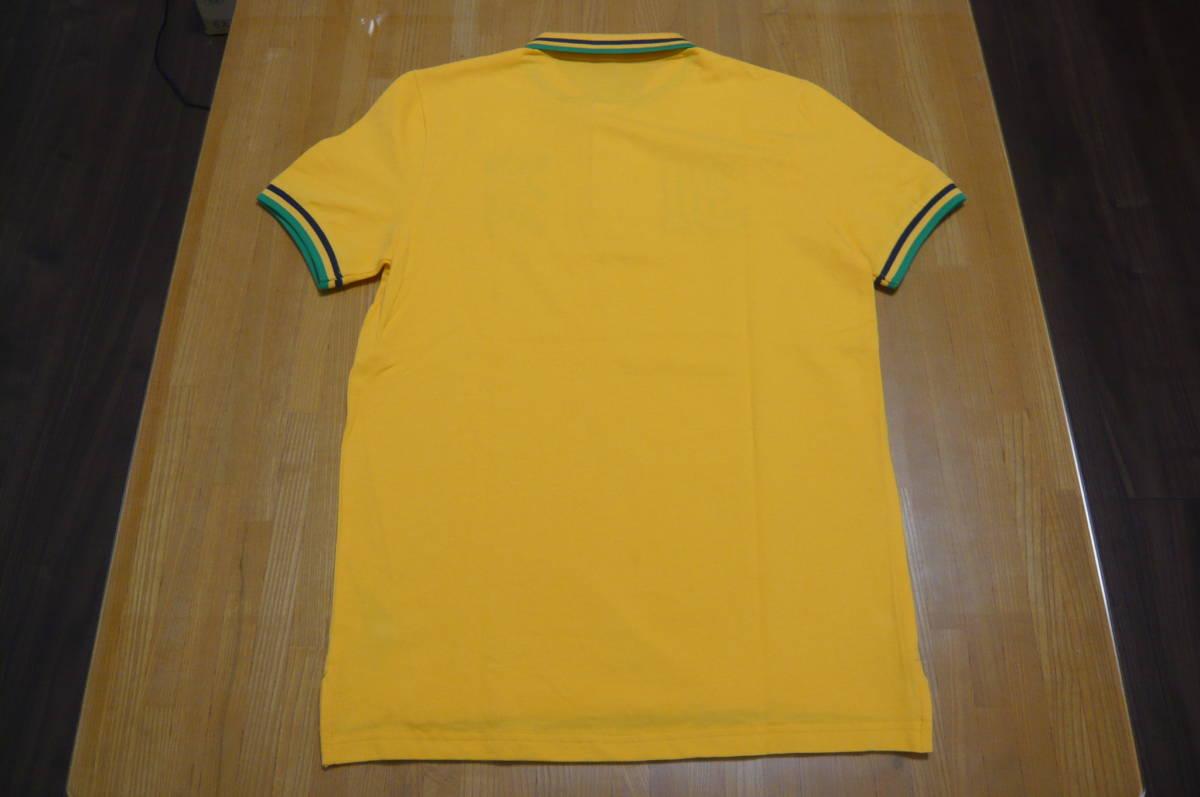 ラスト1枚 GIORDANO Sサイズ 国旗POLOシャツ WEGO ウイゴー 新品未開封 定価2,990円(税別)_画像3