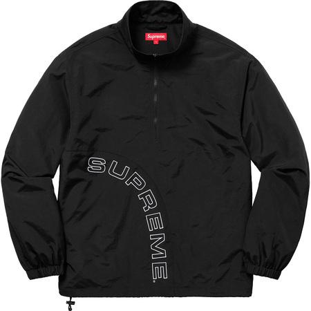 希少★新品本物【黒★M】Corner Arc Half Zip Pullover コーナーアーチ ハーフジップ プルオーバー 正規店購入 シュプリーム Supreme 18S/S_画像1