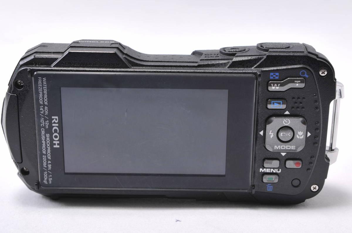 ◆防水・耐衝撃のタフネスボディ◆ リコー RICOH WG-30W 光学5倍ズーム Wi-Fi 付属品多数 SDカード付き! 安心の1年保証 #MC152008535_画像4