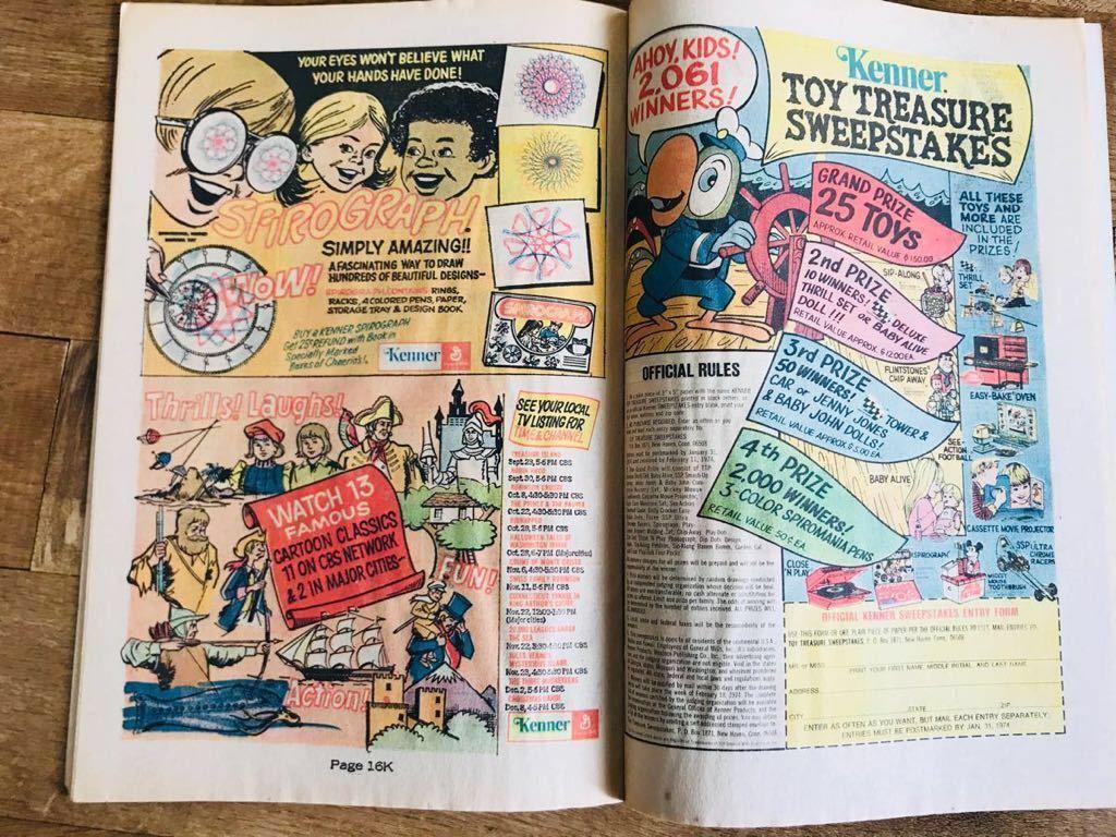 ディズニー ヴィンテージ 洋書 英語 レトロ コレクション コレクターズアイテム 古本 70's ドナルドダック アメコミ ゴールドキー イラスト_画像8