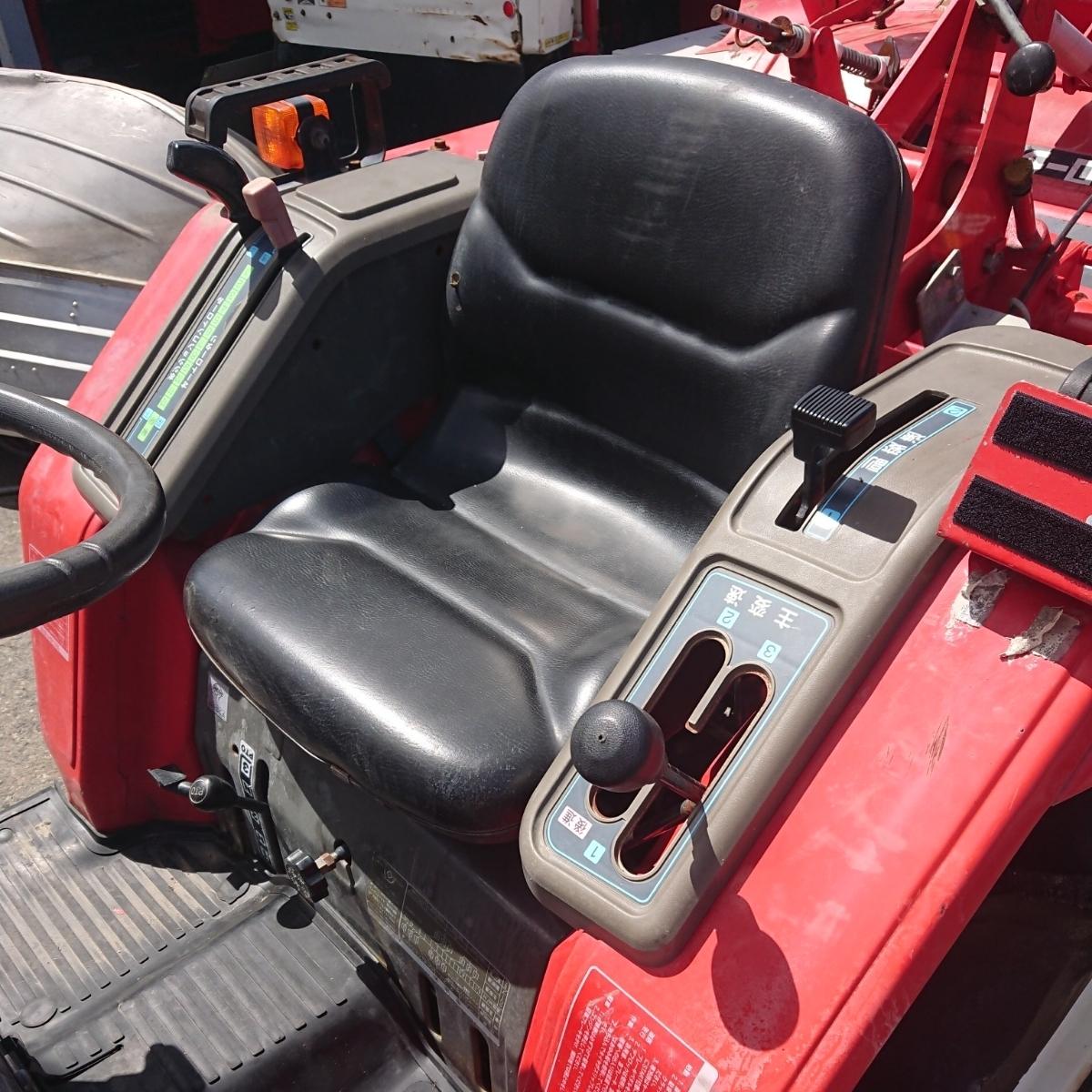 ha ヤンマー 4WD 17馬力 ディーゼルトラクター F7_画像8