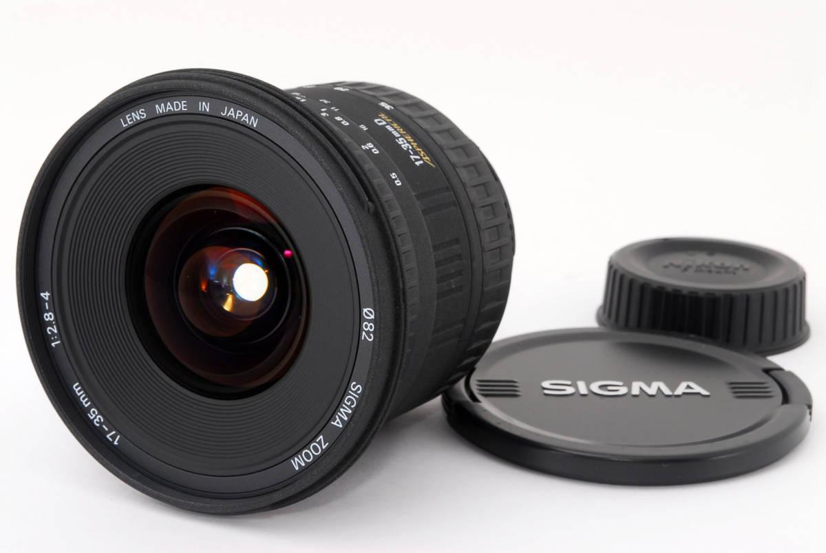 ★外観新品級★ シグマ SIGMA 17-35mm f2.8-4 D EX Nikon ニコン #327709-130