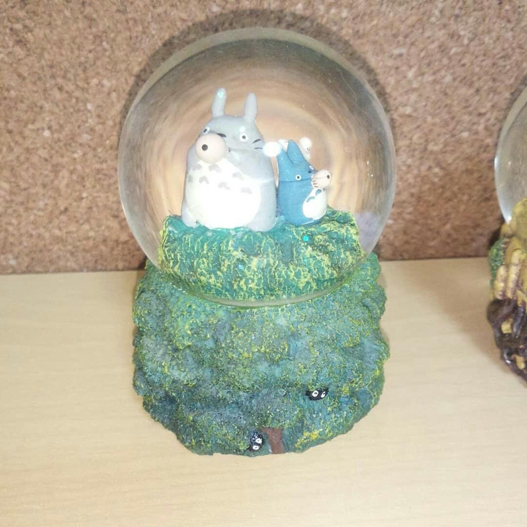 ジブリ スノードーム トトロ 魔女の宅急便 天空の城ラピュタ 3個セット_画像2