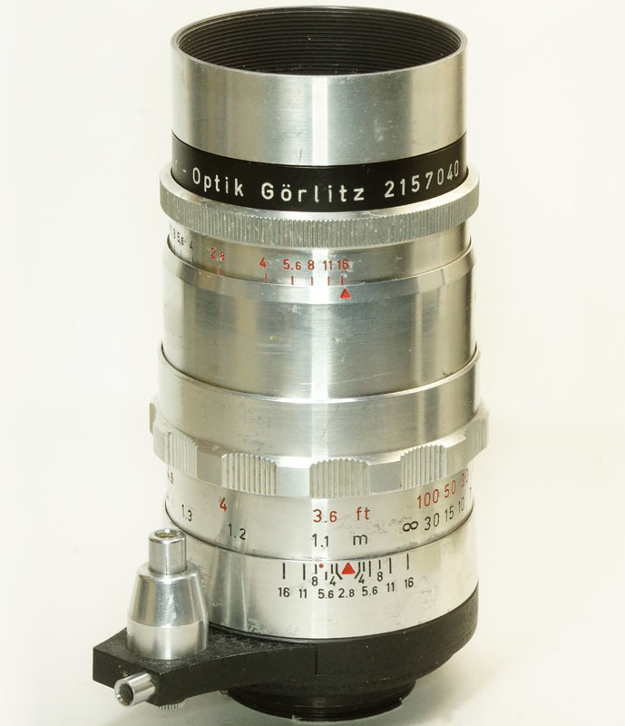 ドイツ製 Meyer-Optik Trioplan 2.8/100 Exakta 7RN-040 シルバー Q1 自動絞 絞羽10枚 レア オリジナル バブルボケ_画像2