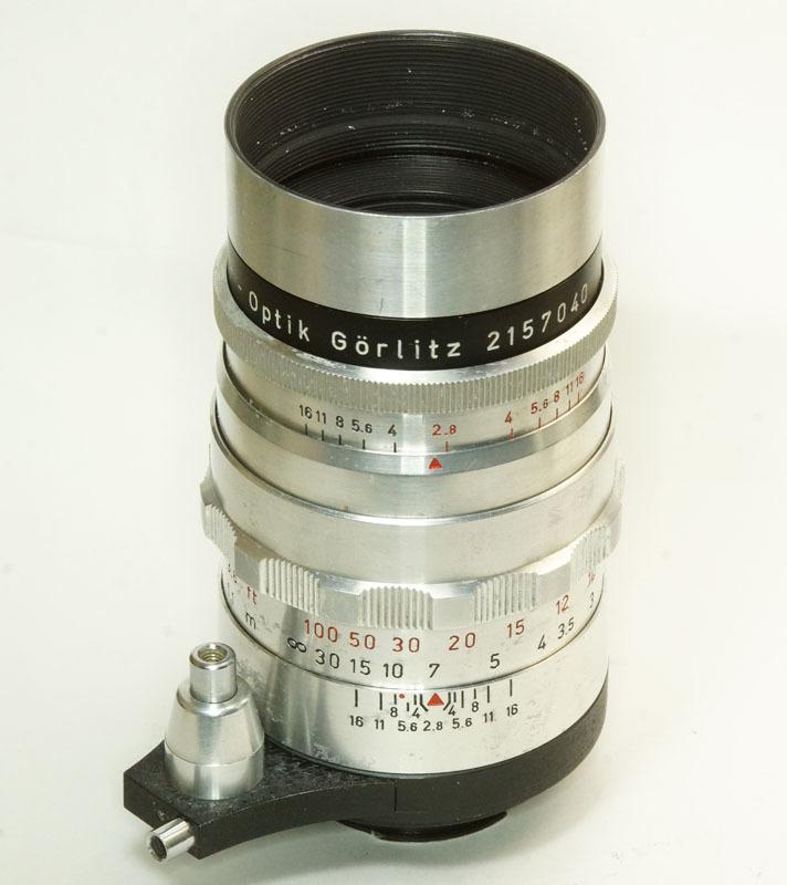 ドイツ製 Meyer-Optik Trioplan 2.8/100 Exakta 7RN-040 シルバー Q1 自動絞 絞羽10枚 レア オリジナル バブルボケ_画像1
