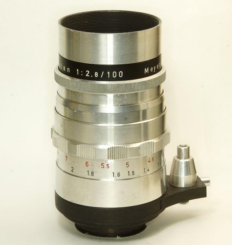 ドイツ製 Meyer-Optik Trioplan 2.8/100 Exakta 7RN-040 シルバー Q1 自動絞 絞羽10枚 レア オリジナル バブルボケ_画像3