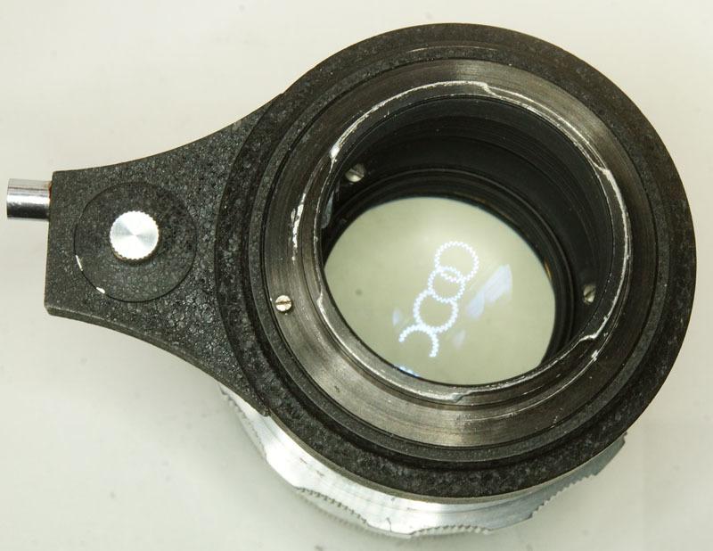 ドイツ製 Meyer-Optik Trioplan 2.8/100 Exakta 7RN-040 シルバー Q1 自動絞 絞羽10枚 レア オリジナル バブルボケ_画像8