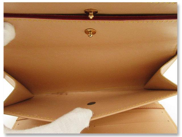 中古美品 ルイヴィトン LOUIS VUITTON 長財布 モノグラム マルチカラー ポルトトレゾール インターナショナル M92659 ブロン 白 ホワイト_小銭入れに薄汚れあり