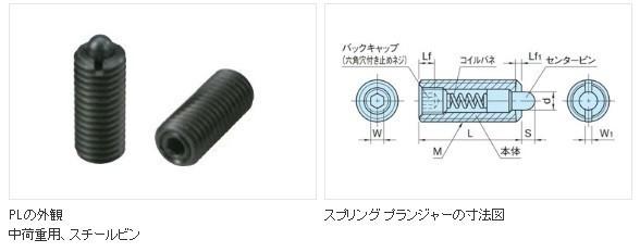 S230*ショートプランジャーSP-5H・SP-5・スプリングプランジャPL-5 合計9個セット_PL-5サイズ1
