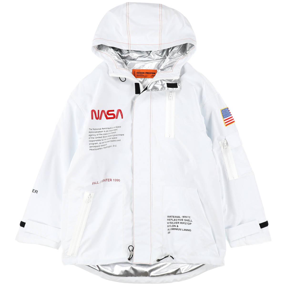 7d6dc429d3a6   new goods unused regular goods   HERON PRESTON NASA HIGH TECH PARKA   WH  ORG