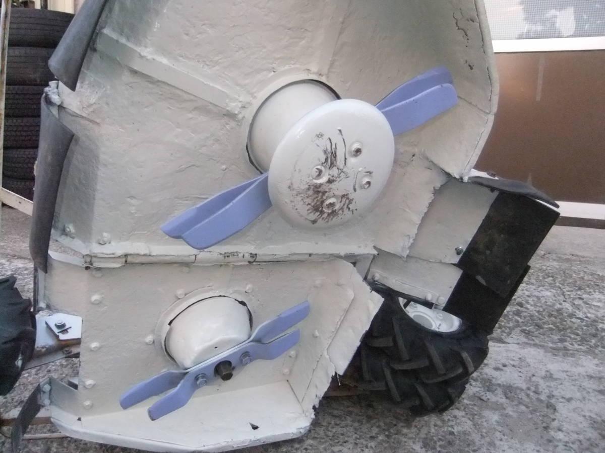 草刈機自走式クボタGC700 ロータリーモア ウイングモア滑りにくい2WD最大6.0馬力★格安です。_画像8