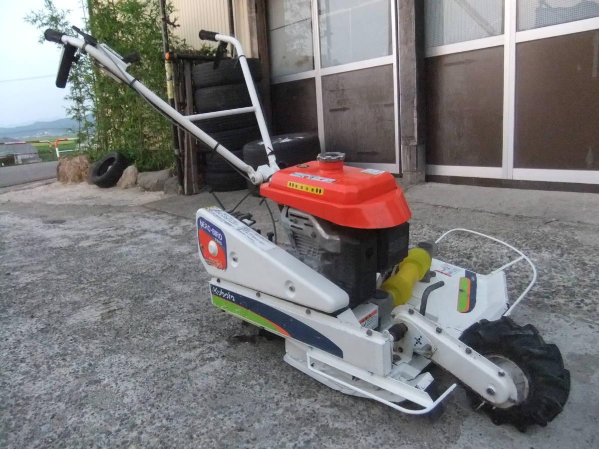 草刈機自走式クボタGC700 ロータリーモア ウイングモア滑りにくい2WD最大6.0馬力★格安です。_画像6