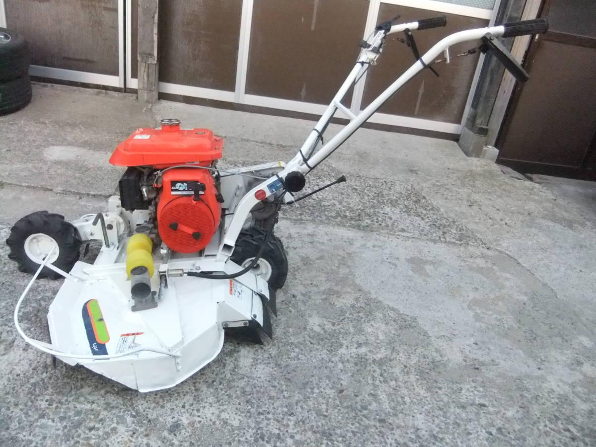 草刈機自走式クボタGC700 ロータリーモア ウイングモア滑りにくい2WD最大6.0馬力★格安です。