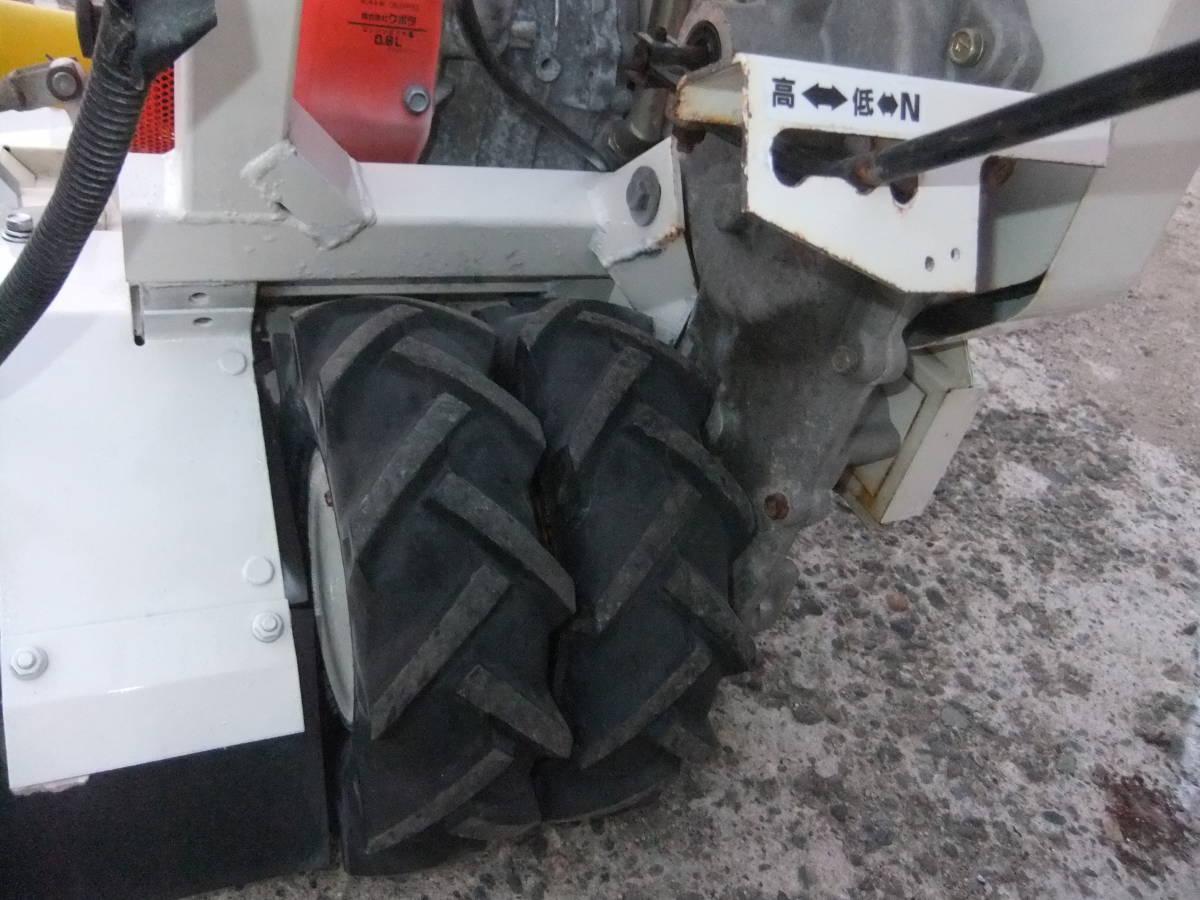 草刈機自走式クボタGC700 ロータリーモア ウイングモア滑りにくい2WD最大6.0馬力★格安です。_画像10