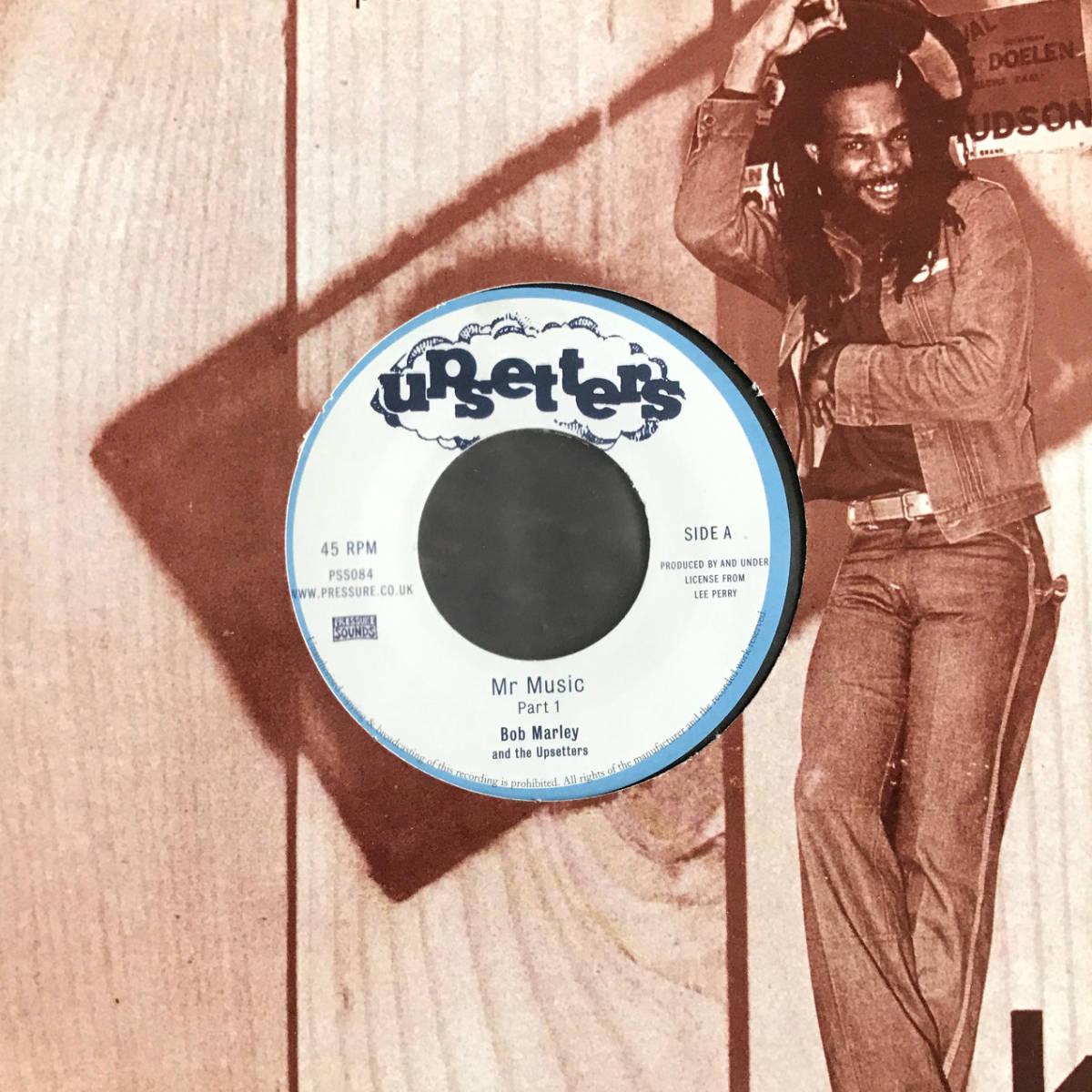 7インチ 45's Bob Marley And The Upsetters Mr Music Producer Lee Perry