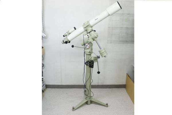 RS233ピ】Nikon ニコン ED屈折赤道儀 三脚 天体望遠鏡 APOCHROMAT F=1200mm D=100mm