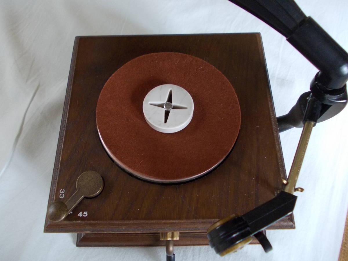 蓄音機型プレーヤー。完品。_画像5