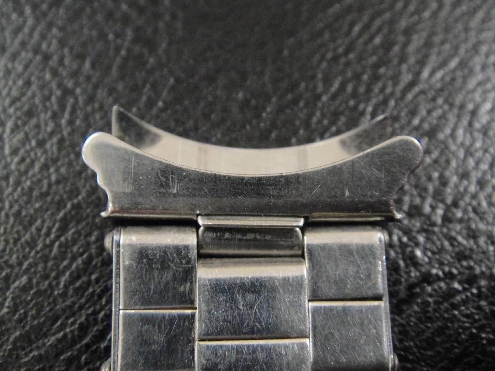 【19.8㎜ シルバー 弓かん】 リベット ブレス 1960's SS 3連 ビンテージ 腕時計 ベルト バンド オイスター / ロレックスやオメガなどに!_画像4
